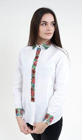 Сорочка жіноча біла з вишивкою арт  992-14 09 купити в Україні і Києві -  відгуки 319d10b7579d0