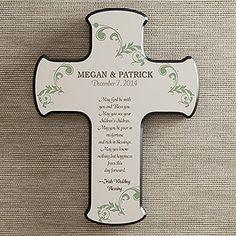 Irish Wedding Blessing Personalized Cross---registry!