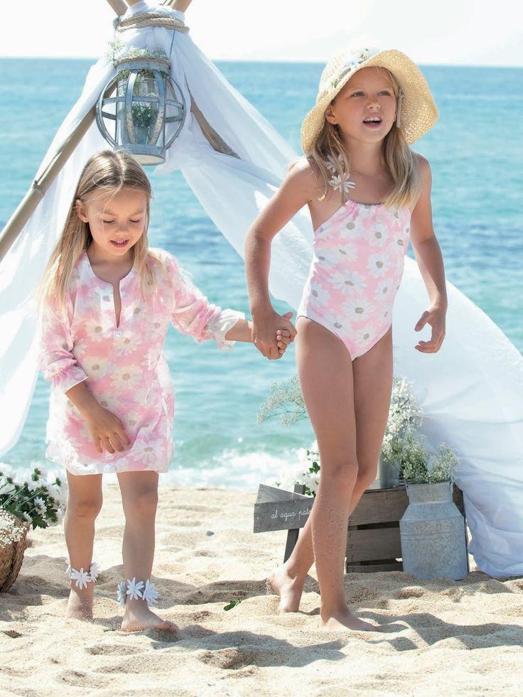 124 Best Moda Praia Images On Pinterest Little Girls