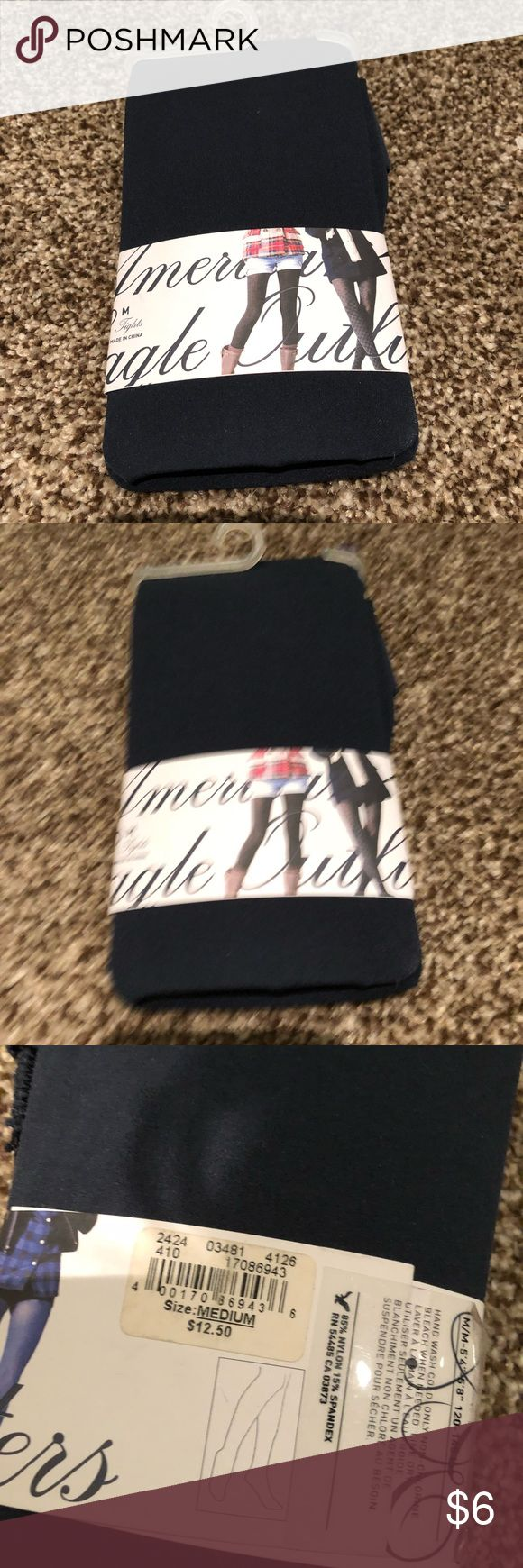 Navy tights Navy American eagle tights American Eagle Outfitters Accessories Hosiery & Socks