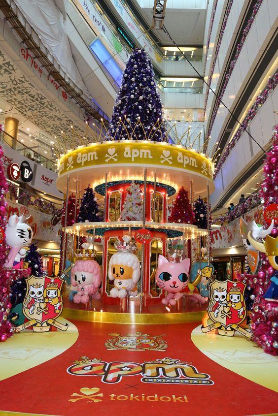 tokidoki Installation at apm Shopping Mall in Hong Kong « tokidoki