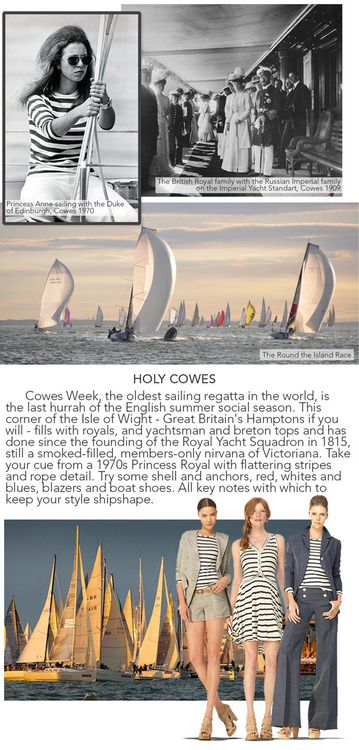 Cowes Week - Great Britan's summer nautical event