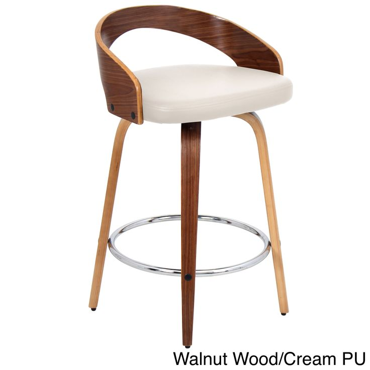modern counter stools swivel brown leather white contemporary backless