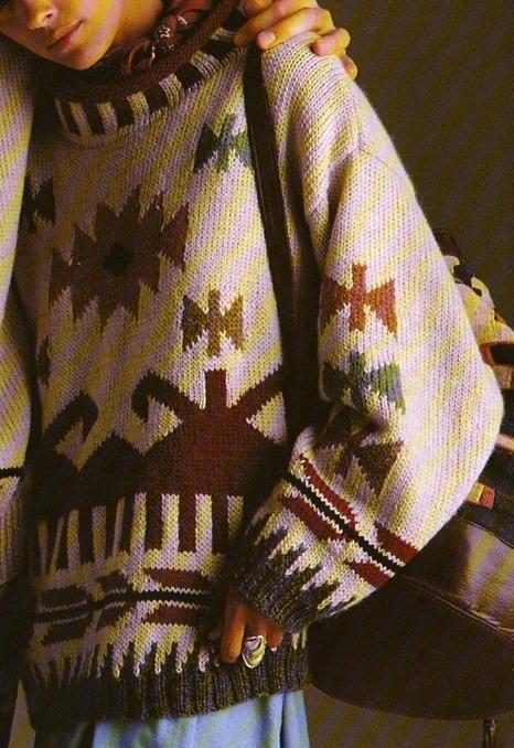 Tailles : 38/40 - 42/44 - 46 Aiguilles N° 4,5 et 4 Le pull-tunique mexicain Le pull esquimaux aux boules de...