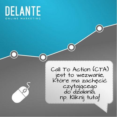 Czym jest CTA? Odpowiedź na fiszce! | by http://delante.pl