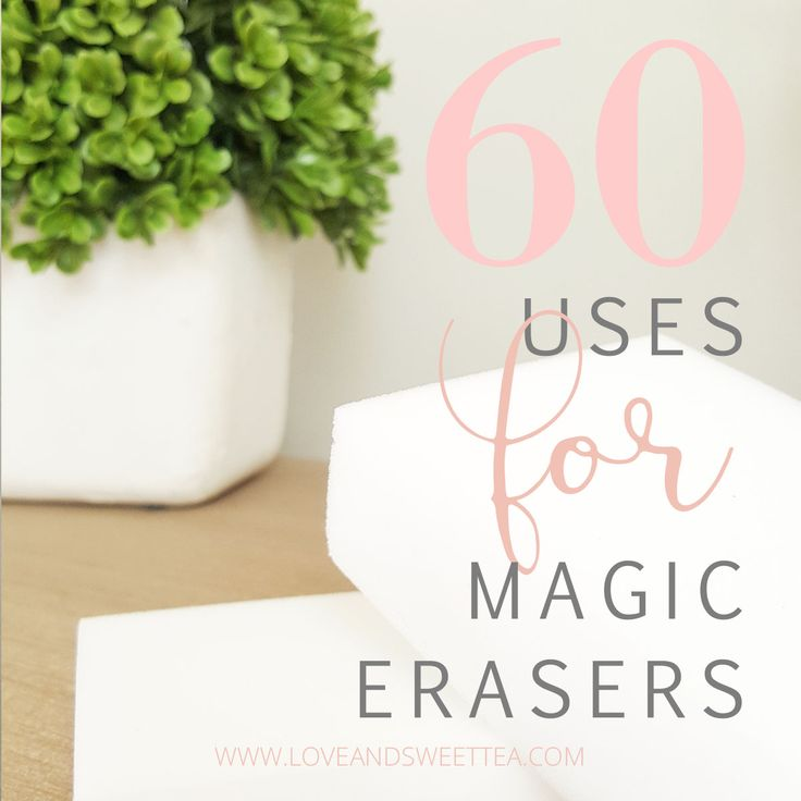 I love using magic erasers! I have found so many uses for them around my home. Whenever I find a huge list of uses for magic erasers, I usually try to stop and read it because I almost always learn a new use for these handy little puppies! Here are some of my favorite lists…