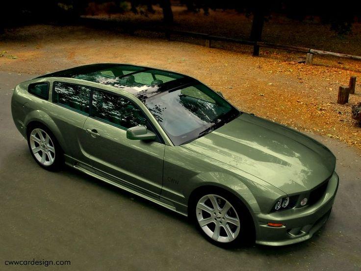 Mustang Wagon (Very Rare)