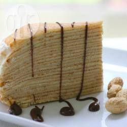 Фото рецепта: Блинный торт с маскарпоне