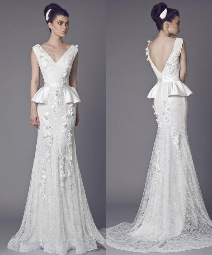 25+ Best Ideas About Peplum Wedding Dress On Pinterest