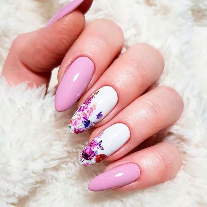 35 Fun And Flirty Floral Designs For Cute Nails This Summer – Gucci Sunglasses -… – Gucci Sunglasses