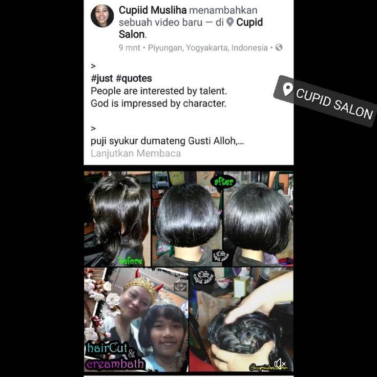 "6 Suka, 1 Komentar - ❤ CupidSalon ❤ CupiidMusliha ❤ (@cupiidmusliha) di Instagram: ""@cupidsalon fb , ig , youtube , flipagram : @cupiidmusliha ❤Cupiid Musliha❤ Cupid Salon ❤…"""