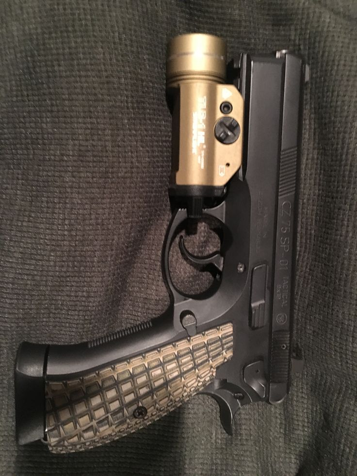 Cz SP-01 W/TLR-1Save those thumbs & bucks w/ free shipping on this magloader I purchased mine http://www.amazon.com/shops/raeind  No more leaving the last round out because it is too hard to get in. And you will load them faster and easier, to maximize your shooting enjoyment.  loader does it all easily, painlessly, and perfectly reliably
