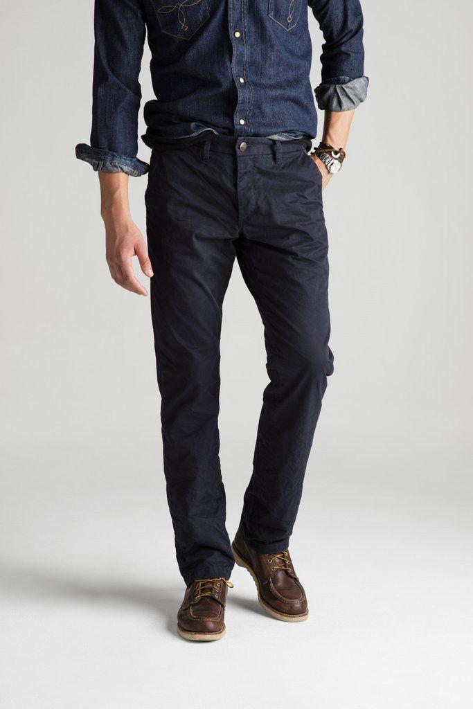 NEW MENS GROWN & SEWN USA Pants Jeans BLACK LEGEND 32X34 Straight Leg Chinos