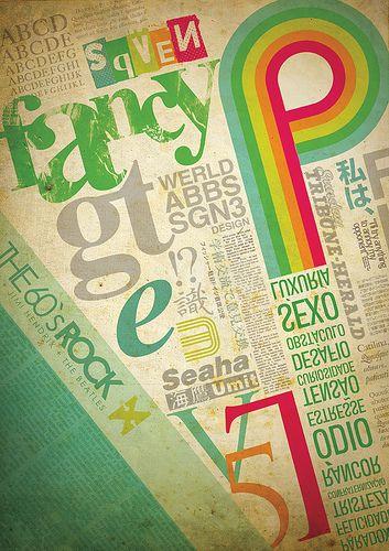 Google Image Result for http://webdesignledger.com/wp-content/uploads/2008/12/typography_posters_14.jpg: Design Inspiration, Colors Pallets, Types Posters, Typography Posters, Fashion Art, Types Design, Graphics Design, Visual Art, Typography Art