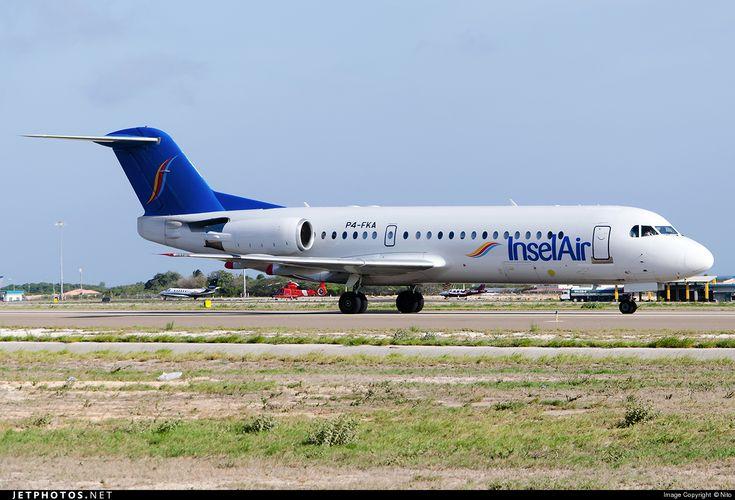 Insel Air Aruba Fokker 70 P4-FKA