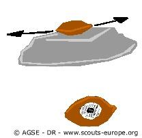 alouette ( noix ou noyau d'abricot)