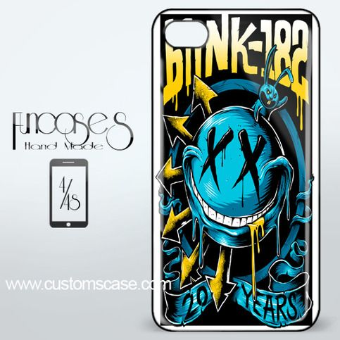 Blink 182 American rock band iPhone 4 or 4S Case Cover from Funcases