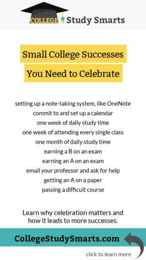 Motivation Tip Celebrate Small Successes College Productivity