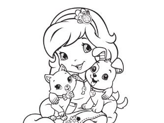 131 best images about color strawberry shortcake on pinterest for Strawberry shortcake birthday coloring pages