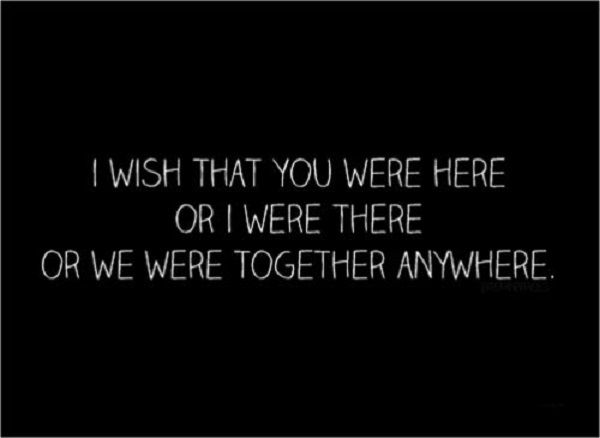 Wishes Misses Lover Quotes