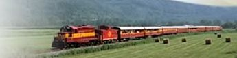 Take a train ride across the country