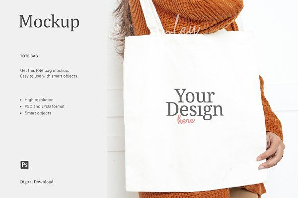 Download Tote Bag Mockup Bag Mockup Tote Bag Photoshop App