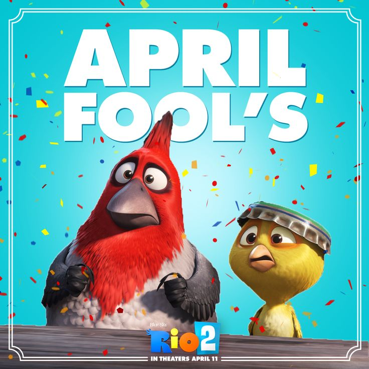 Don't be surprised if you find a worm in your nest! Happy April Fool's from #Rio2!