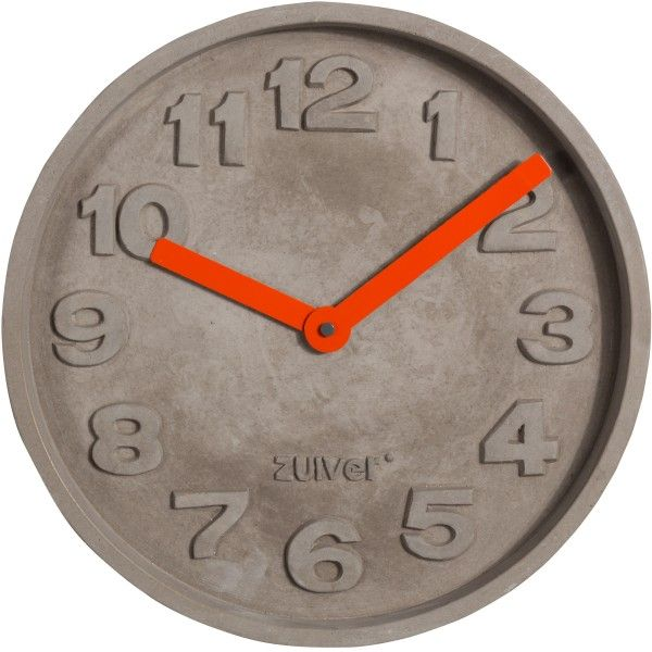 Concrete Time klok | Zuiver