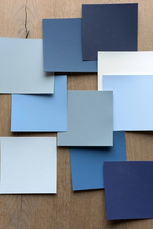 Dulux has also developed a beautiful tonal colour palette to complement 2017's Colour of the Year, featuring a spectrum of blues and blue-hue tones.