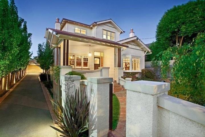 our Californian Bungalow Houzz, Surrey Hills - traditional - exterior - melbourne - bungalow66