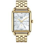ESQ Movado Watch, Women's Swiss Origin Diamond Accent Gold Ion-Plated Stainless Steel Bracelet 30mm 7101415
