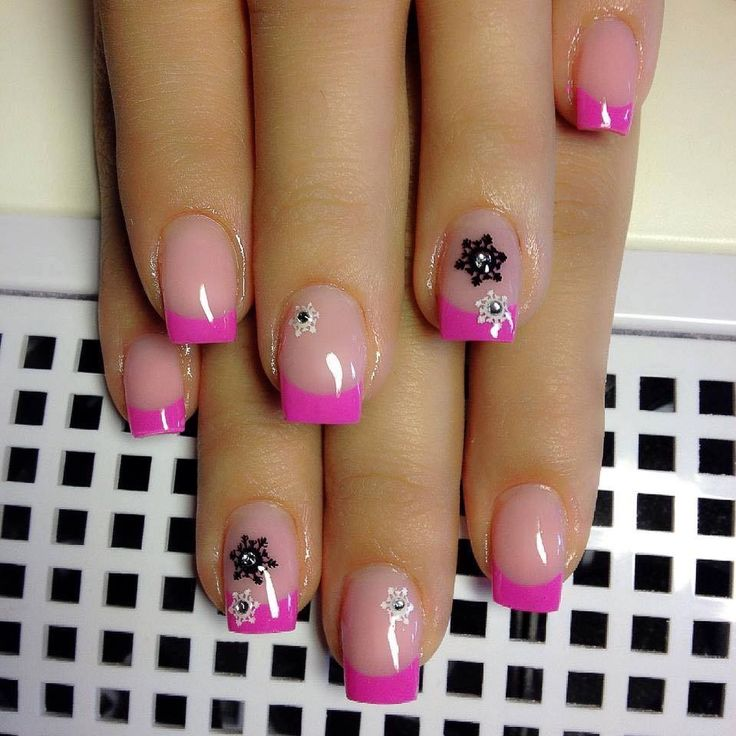 Best 7 Nails images on Pinterest | French manicures, French nails ...