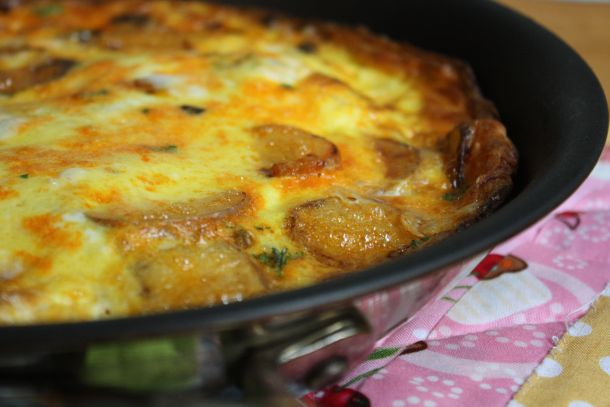 Chorizo and Potato Frittata | recipes | Pinterest
