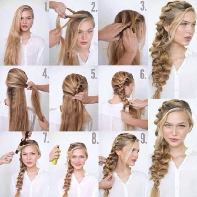 I Want To Do Easy Party Hairstyles For Long Hair Step By Step How Side Braid Hairstyles Loose Side Braids Hair Styles