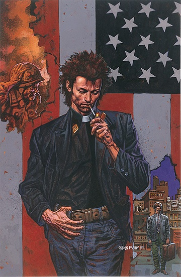 Preacher: Glenn Fabry illustration