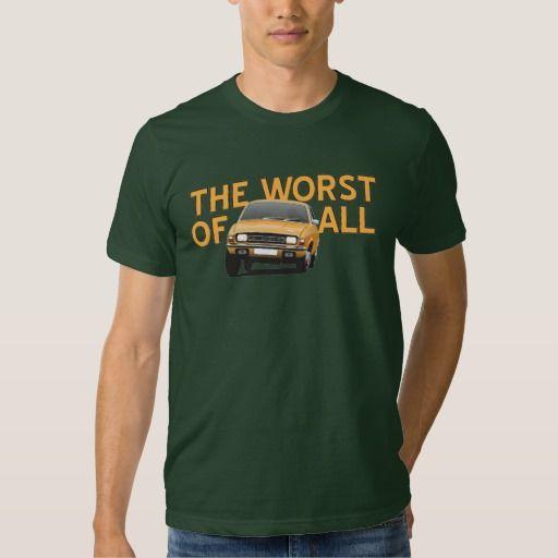 Austin Allegro - The worst of all - orange  #austinallegro #allegro #austin #leyland #british #uk #automobile #car #tshirt #print #illtustration #zazzle #70s #classic #