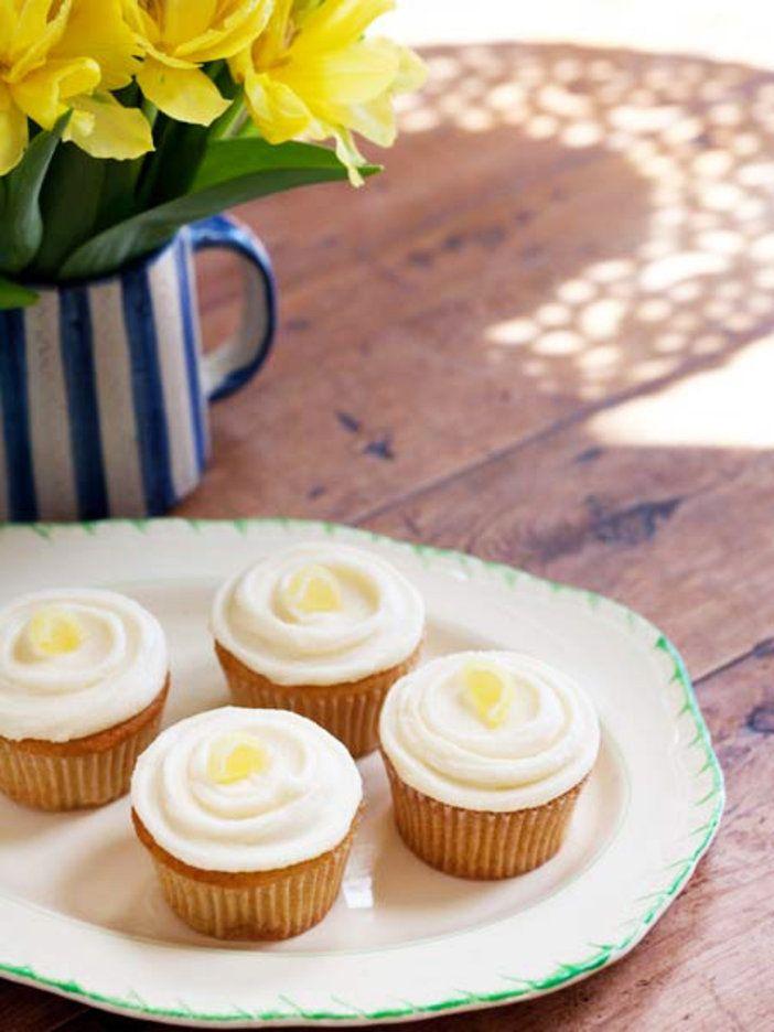【ELLE a table】レモン・カップケーキ(レモン・バタークリーム乗せ)レシピ エル・オンライン