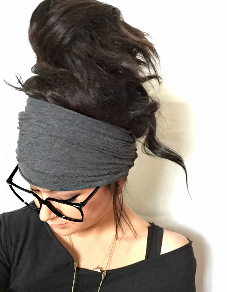 Extra Wide Headband by Pebby Forevee (Soot) [$20.95]