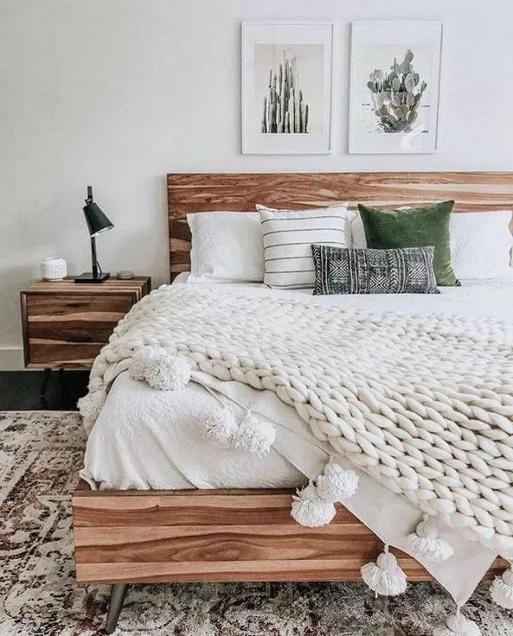 50 tolle Deko-Ideen, die Ihr Schlafzimmer gemütlich und warm machen ...