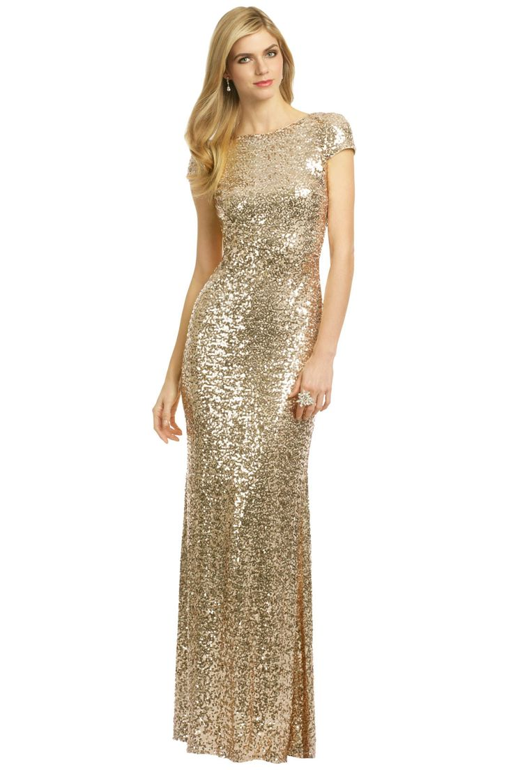 Night at the Oscars Gown by Badgley Mischka at $125 | Rent The Runway
