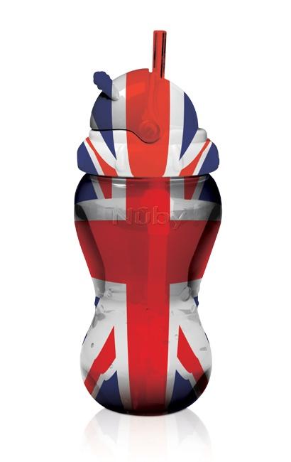 Nuby Flip It Beaker - Union Jack