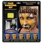 Lion Face Painting Kits from Wolfe (3 Colors) by Wolfe Face Art & Fx. $6.32. From Wolfe, the leader in Face Paints, comes a Lion Face Painting Kit that is easy-to-use. It comes with color photos to show you the way. What better way to make perfect and easy lion face painting designs? Wolfe paint is the high-in-demand face paint that goes on smoothly and evenly and does not smear or crack once it is on the skin. Wolfe makeup is water based face painting makeup and is safe a...