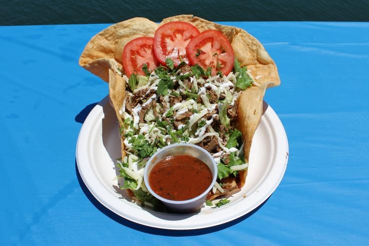 Taco Salad at Pete's Pierside Cafe Restaurant recipes