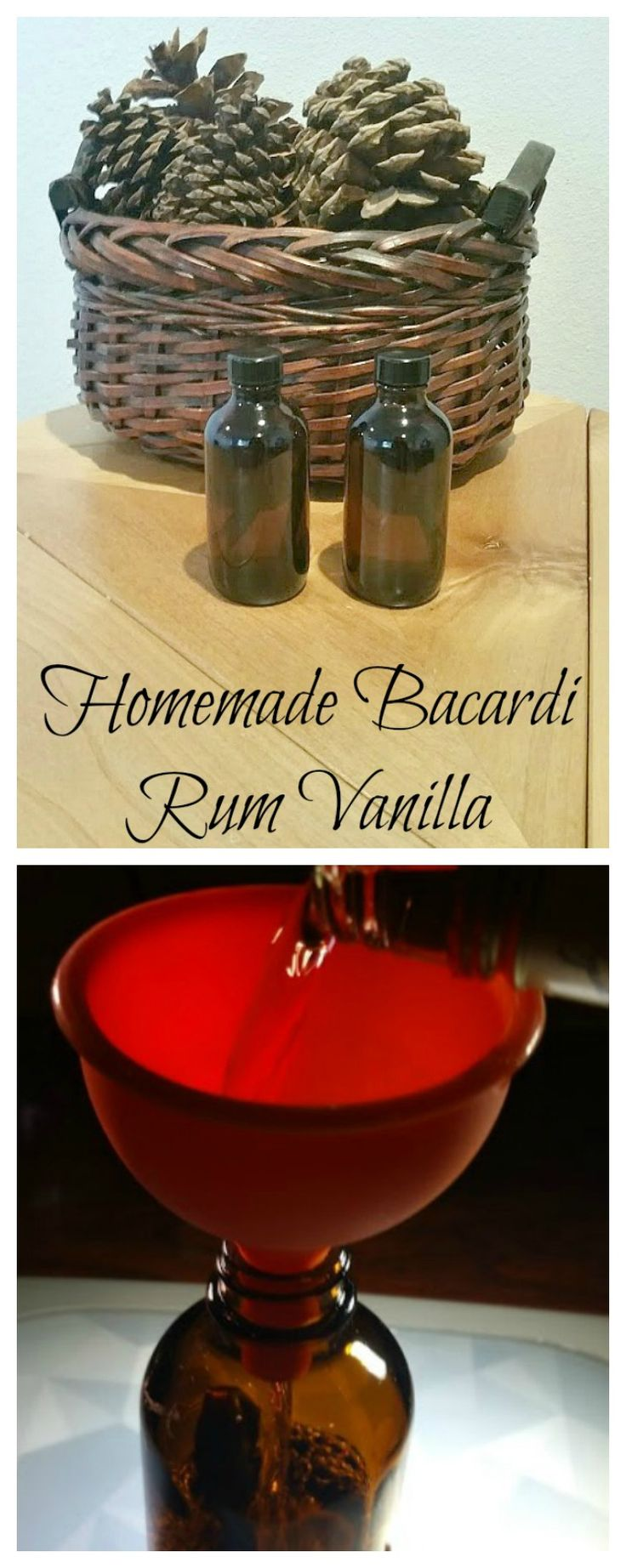This homemade Bacardi Rum vanilla is a DIY homemaker's dream. It is wonderful for baking and it only has two ingredients! I'm going to tell you how you can make it. It's made with Madagascar vanilla beans!