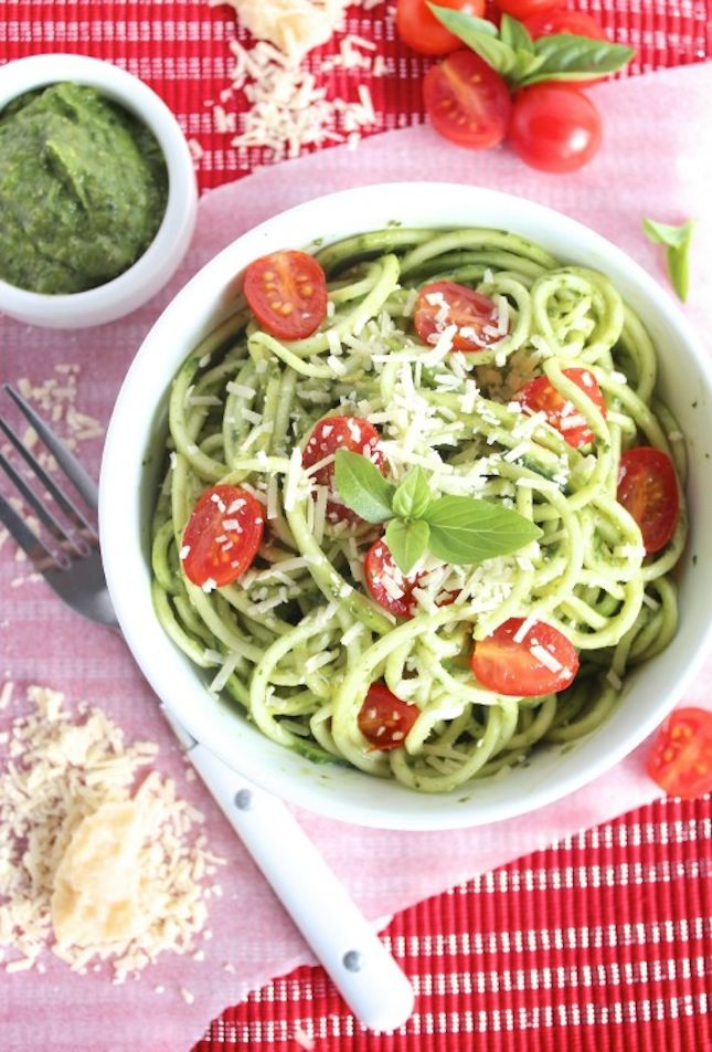 rice noodles noodles avocado zucchini pasta roasted summer squash ...