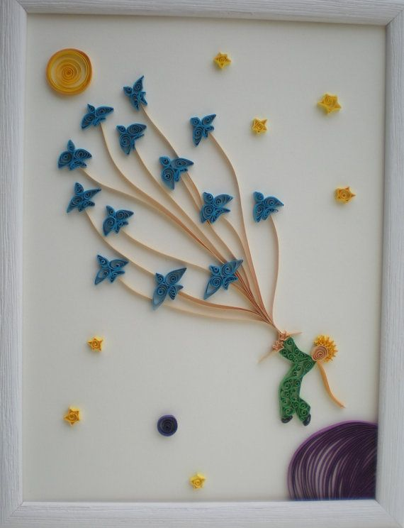 Quilled Paper Art The Little Prince Quilling by SoulfulQuilling
