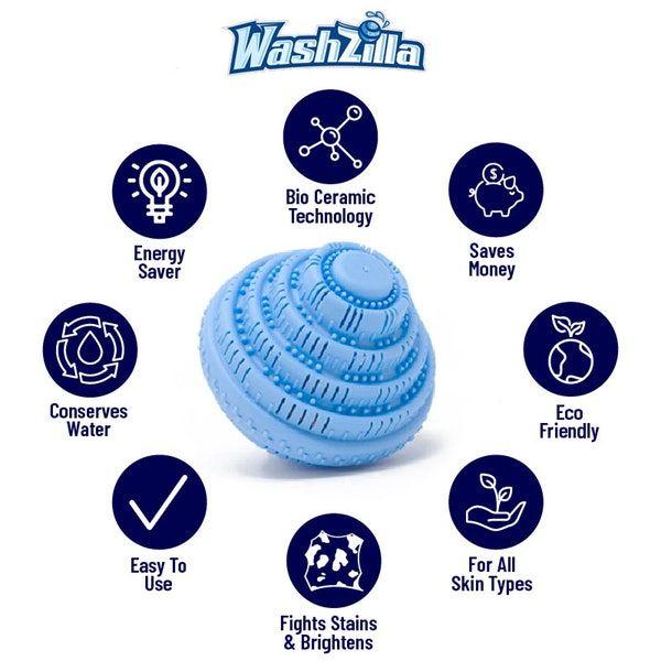 Checkout Washzilla Laundry Ball Washing Ball Laundry Pods