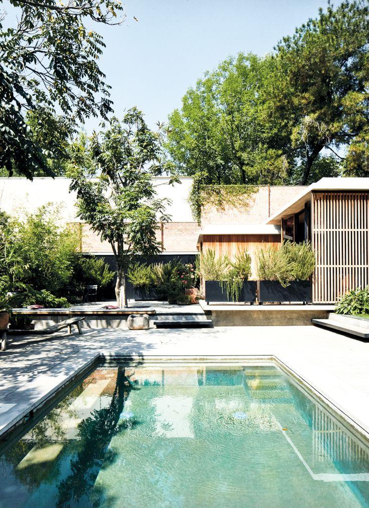 Mobilier sur mesure pour une lumineuse maison d'architecte