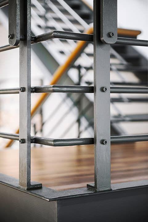 17 mejores ideas sobre metal stair railing en pinterest ...