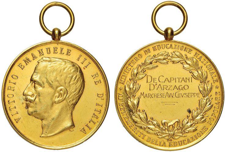 NumisBids: Nomisma Spa Auction 51, Lot 2587 : SAVOIA Medaglia Premio Del  Ministero Dell
